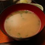 三軒茶屋 - 鯛の荒汁