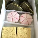 越後屋若狭 - 三月のお菓子 三種。