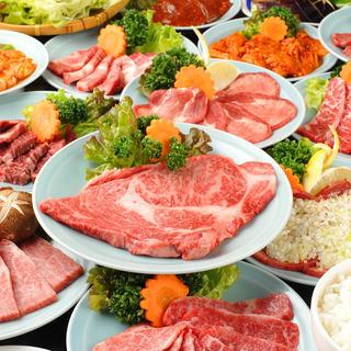 肉好き集まれ!焼肉&ジンギスカン食べ放題2,480円~