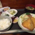Daining Bar 海 - 鰺フライ定食