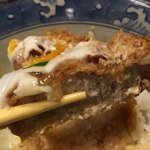 Tonkatsuyamaichi - カツリフト。この味に惚れない人はいないと思う