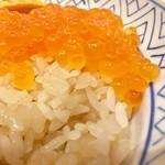 鮨 酒 肴 杉玉 - 酢飯は赤酢