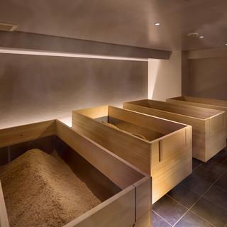 女性専用温浴サロン『発酵温浴nifu』の休憩処として♪