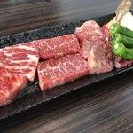 82385485 - 肉盛定食 肉