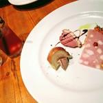 カルネヴァーレ - 前菜3種 一番おいしかったのはパテ!