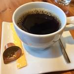 カフェアンドレストランアッタカ - ランチセットのコーヒー