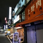 東京苑 - コリアンタウンの路地