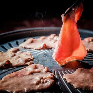 期間限定!◆◇極肉フェア◇◆トロ牛タンの焼きしゃぶ♪