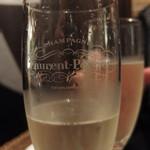 マンハッタングリル - (2018年03月)グラスワイン(スパークリング)