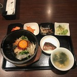 KOREAN DINING 長寿韓酒房 - 石焼きビビンパ(1000円)