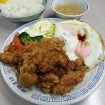 大勝軒 - 料理写真:からあげ定食