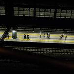 8239407 - 恵比寿駅のホームが見える