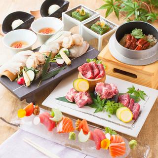 【懐石料理】四季折々の味覚を愉しむ本格和食。ご接待,記念日に