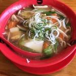 天下一品 - 野菜あんかけラーメン870円