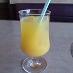 肉の万世 - オレンジジュース