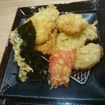 82396011 - 海苔・紅生姜・叉焼3枚の天ぷら