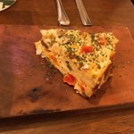 Del Crocus's - 彩り野菜のキッシュ