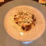 Del Crocus's - 鶏もも肉のガーリックチーズブリュレ