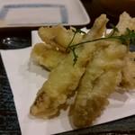 鮮魚の桶盛りと創作天ぷら 天しゃり -