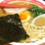 竹本商店☆つけ麺開拓舎 - 伊勢海老ラーメン ― つけ麺同様、伊勢海老エキスたっぷりの一品、濃厚です