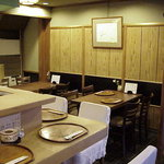 すっぽん鍋 鱧料理 三栄 - テーブル席
