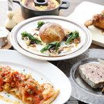 イカリヤ食堂 - グループのお客様のお料理も提案させて頂けます