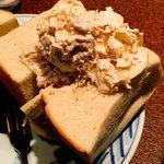 アメリカン - チキンとりんごのサンドイッチ