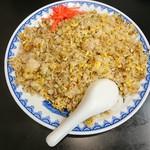 ラーメン 末広 - 料理写真:にんにくチャーハン 大盛 ¥650