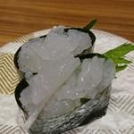 回転寿し 氷見 きときと亭 - 料理写真:白えび