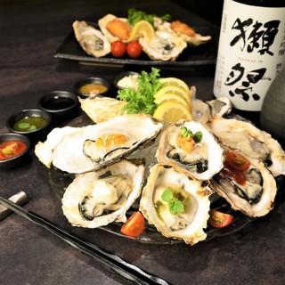 『赤字覚悟』牡蠣&いくらW食べ放題1,980円