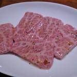 楽々亭 - 料理写真:上カルビ(1200円)