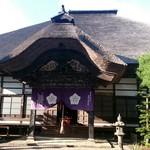 前山寺 - 本堂