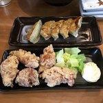 をうみ - 餃子とミニ唐揚げ