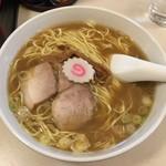 赤坂味一 - 「中華そば」600円