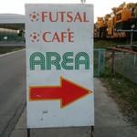 FUTSAL CAFE AREA - 外観写真: