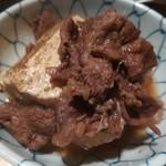 82406899 - 牛肉の煮込み豆腐