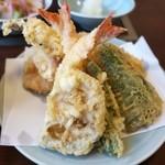 天ぷら きよし - 天ぷらたくさん