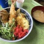 車山高原スカイプラザ - 信州諏訪みそ天丼    1,000円