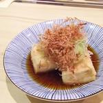 Wasabi - 1803_Wasabi -和さび-_AGE DASHI DOFU@38,000Rp(揚げ出し豆腐)