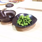 Wasabi - 1803_Wasabi -和さび-_EDAMAME@28,000Rp(枝豆)