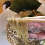 麺屋 希楽夢 - 牡蠣塩そば、味玉トッピング