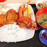 かめ食堂 - かめランチ(750円)