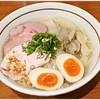 麺 絆水産 - 料理写真:特製 帆立と浅利のリッチ塩そば 950円 濃密貝出汁!これは美味い♪