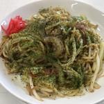 なかしま食堂 - 料理写真:やきそば=550円
