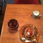 七つ森 - プリンにセットで付けたアイスコーヒー
