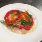 クインテット - 真鯛のカルパッチョ ミニ