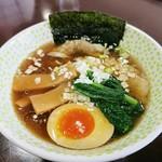 らー麺 N - N麺醤油680円