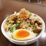 らー麺 N - おろしチャー玉ごはん270円