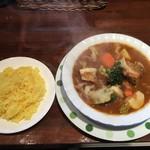 十ちゃんの台所 - ランチ:ポトフ風カレー