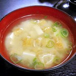 柳屋 - 朝食(味噌汁)